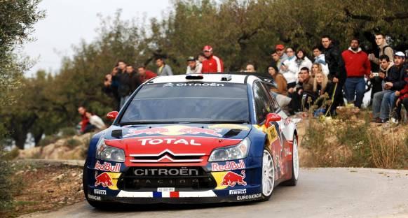 Loeb 2. günü lider kapattı