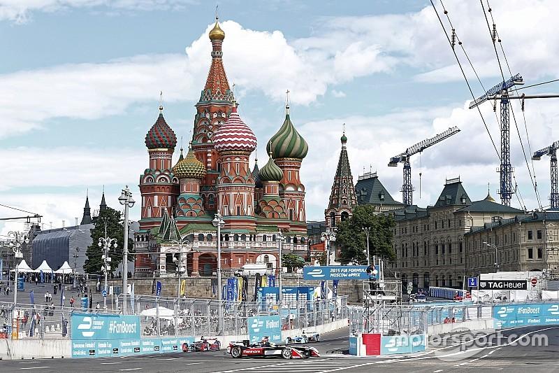Московский этап Формулы E отменен