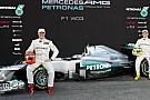 Mercedes W03'ün örtüsü resmen kaldırıldı