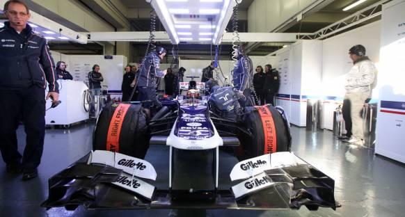Williams araçtaki ilerlemeden memnun