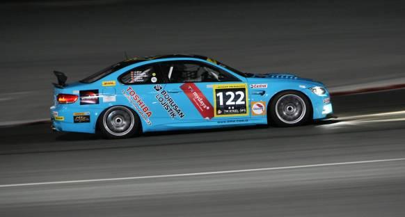 2012 Dubai 24H yarışında Borusan 13. sırada