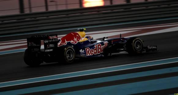 RBR Webber'in pit stratejisinin arkasında