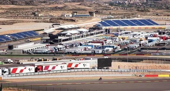 Aragon'daki elektrik kesintisi MotoGP'yi vurdu