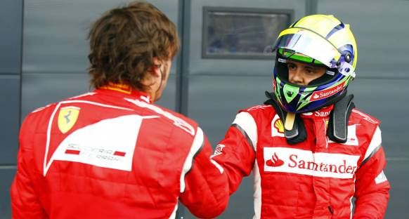 Massa: Hamilton'la mücadelede herşey normal