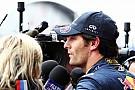 Webber: Vettel'i yenme açlığım gitmedi