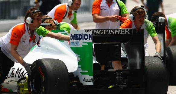 Force India Silverstone'da KERS'den Vazgeçebilir