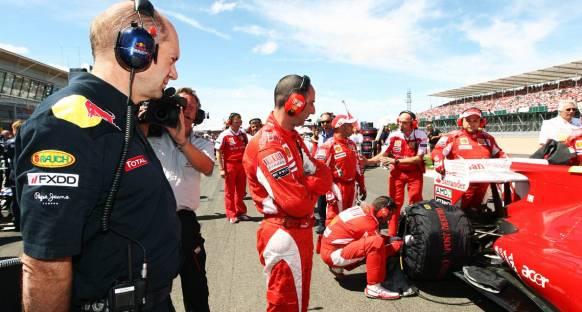 Newey Ferrari'ye Hayır Demiyor