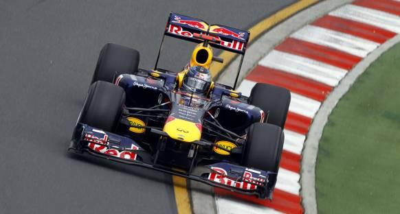 Vettel polden memnun ancak temkinli