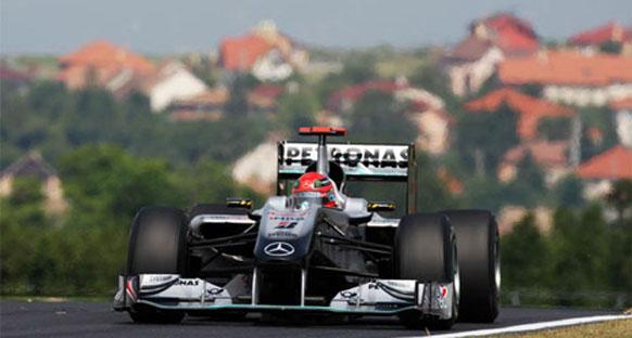 Schumacher'in kumarı geri tepti