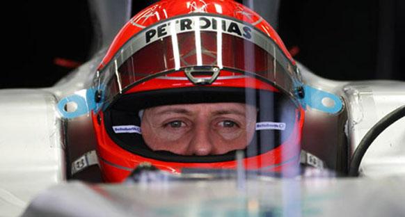 Schumacher frenlerden ve lastiklerden şikayetçi