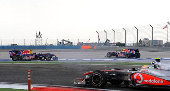 Red Bull çifti kaza konusunu açmak istemiyor