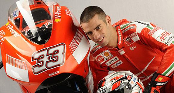 Melandri'nin formu Ducati'de problem oldu