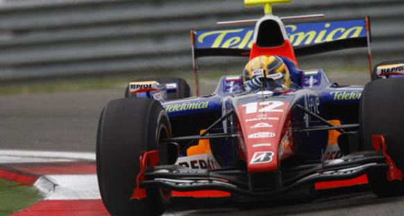 GP2 Fransa - Zafer Pantano'nun