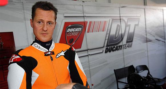 Schumacher superbike'da ilk yarışına hazırlanıyor