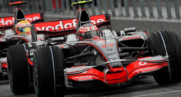 Malezya GP sıralamalar - McLaren Mercedes