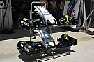 Formel-1-Technik: Williams testet modifizierten Frontflügel