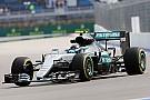 Rosberg domina también los primeros libres de Rusia