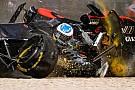 Alonso'nun koltuğu Melbourne'deki kazada çatlamış