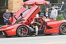 Hamilton Ferrari koltuğunda