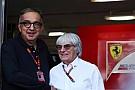 Ferrari 'Ecclestone kendisinden sonraki dönem için plan yapmalı'