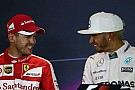 Sebastian Vettel basın toplantılarında kırdı geçirdi