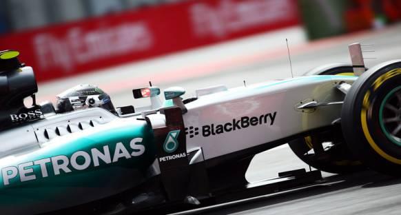 23 yıl sonra Meksika'daki ilk pole pozisyonu Rosberg'in oldu