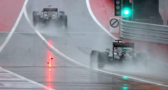 ABD GP Sıralama Turları Yarış Sabahına Ertelendi