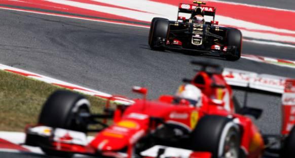 Maldonado: Lotus'un Ferrari ile Rekabet Edecek Gücü Var