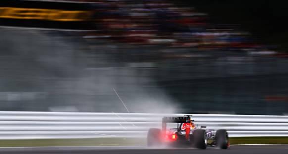 Daniil Kvyat, Suzuka'da İkinci Seansı Zirvede Tamamladı