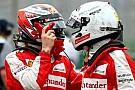 Vettel: Raikkonen'in Ferrari'de kalmasını istiyorum