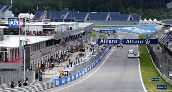 Avusturya GP Cuma 2. antrenman turları canlı