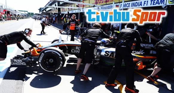 TivibuSpor Çin grand Prix'sini yayınlayacak