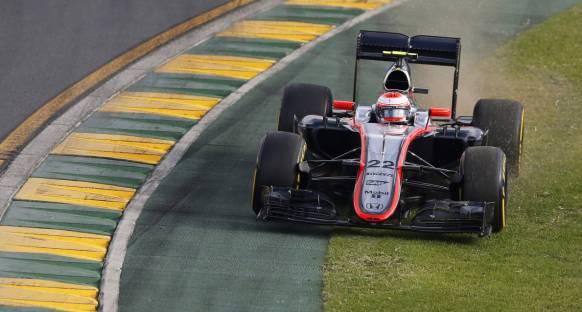 Button McLaren'ın geride kalmasına şaşırmadı