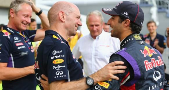 Ricciardo: Newey'in geri adımı beklenildiği gibi büyük değil