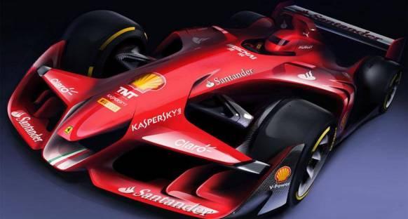 Ferrari, konsept tasarımıyla rakiplerine gözdağı verdi