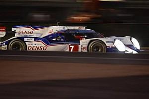 ALMS Son dakika Le Mans 24 Saat: Pole Toyota'nın, Porsche İkinci