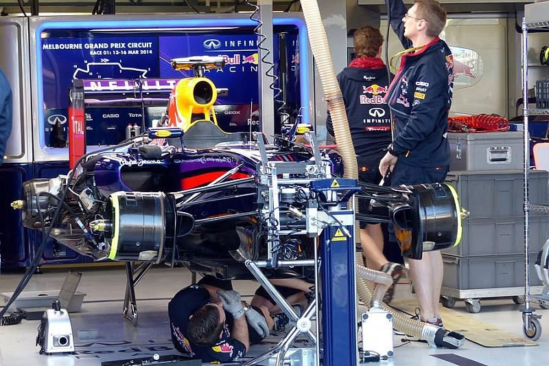 Red Bull хочет вернуть очки Австралии