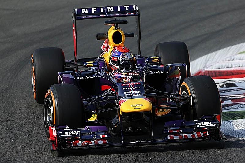 Гран При Италии: вторая тренировка
