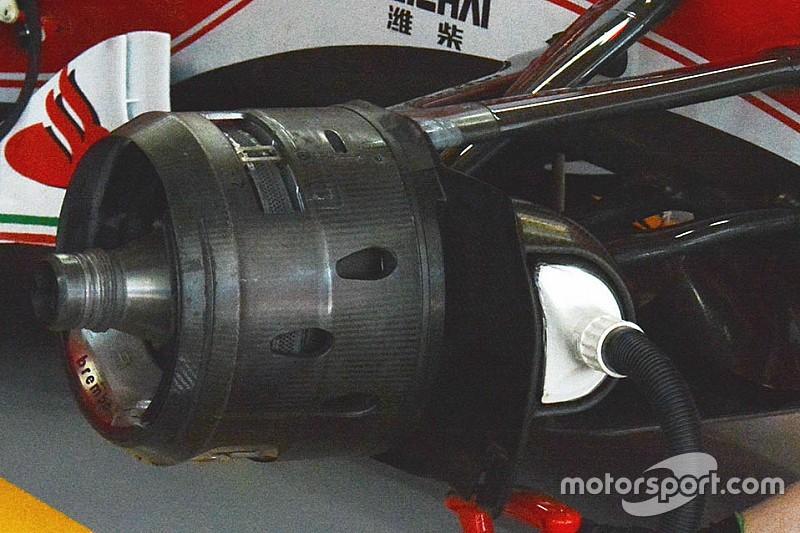 Formel-1-Technik: Details am Ferrari SF16-H