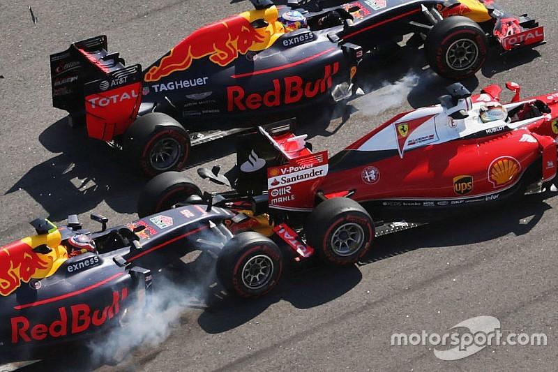 """Vettel não pretende falar com Kvyat: """"ele é quem deve falar"""""""