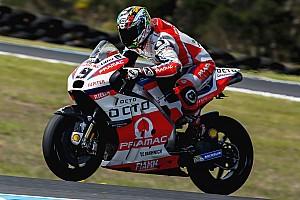 MotoGP Interview Petrucci évaluera sa blessure séance après séance