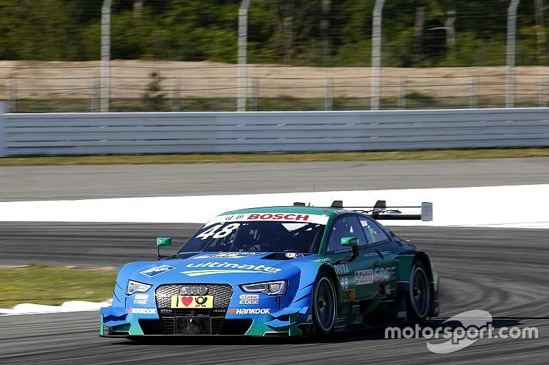 Edoardo Mortara abre al frente en el inicio del DTM