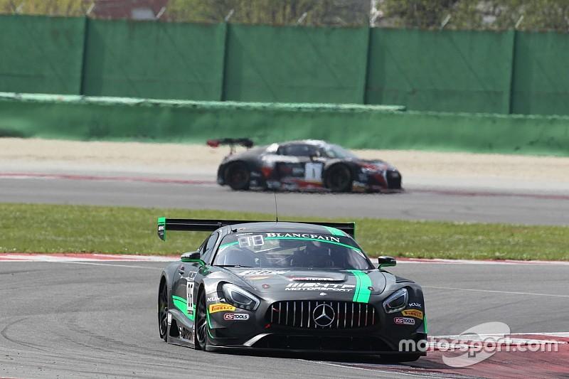 Schneider e la Mercedes AMG concludono al top le prime Libere