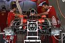 Tech update: Asymmetrische brake duct voor Ferrari in Barcelona
