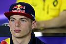 Verstappen ziet geen gevaar in snelle overstap naar Red Bull
