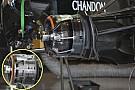 F1メカ解説:マクラーレンMP4-31のブレーキダクト