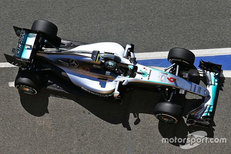 西班牙大奖赛FP2:梅赛德斯重回榜首