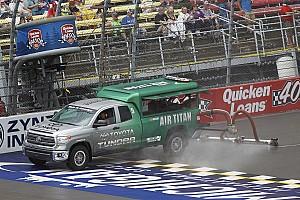 NASCAR Cup Testing report Goodyear tire test at Michigan cut short by rain