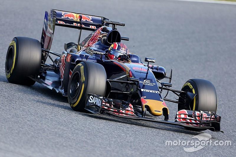 """Kvyat, 116 vueltas en un test """"crucial"""" con el Toro Rosso"""