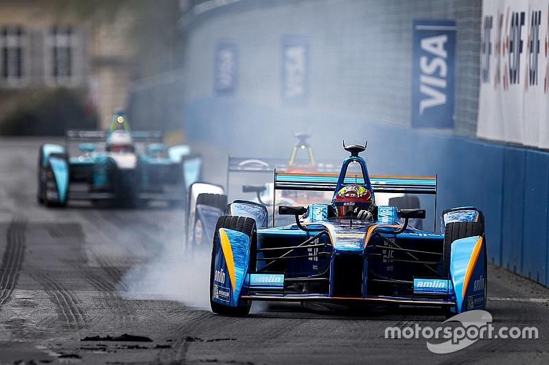 Remprobleem treft Frijns in Formule E-trainingen Berlijn